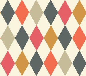 103/2006-CS PUNCHINELLO Multi-Colour Cole & Son Wallpaper