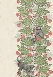 109/11051-CS ACACIA Green Coral Berries Cole & Son Wallpaper