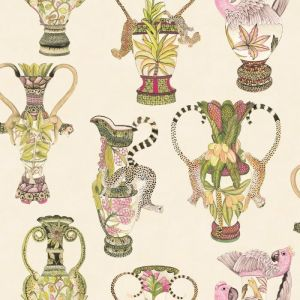 109/12057-CS KHULU VASES Cream Multi Cole & Son Wallpaper
