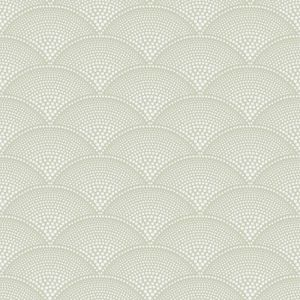 112/10037-CS FEATHER FAN Old Olive Cole & Son Wallpaper