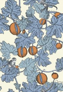 114/1003-CS FRUTTO PROIBITO Hyacinth Orange Cole & Son Wallpaper