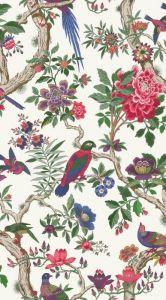 99/12050-CS FONTAINEBLEAU Fuschia Cole & Son Wallpaper