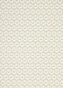 PW78027-2 HAWKBURY Aqua Taupe Baker Lifestyle Wallpaper