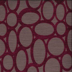 RHODES Plum 90 Norbar Fabric