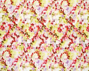 A9 00011931 RAINFOREST Colorfulness Print Scalamandre Fabric