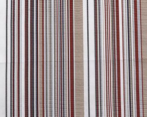 A9 00021843 STRIPE MANIA Tropical Red Scalamandre Fabric