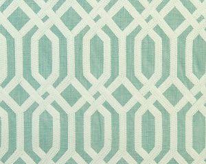 A9 00021863 TRELLIS ADDICTION Tiffany Blue Scalamandre Fabric