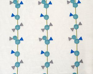 A9 00021918 MINI SWIRL LOLLIPOP Cool Party Scalamandre Fabric