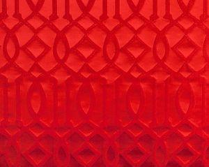 A9 00041870 MASTER TRELLIS Coca Cola Red Scalamandre Fabric