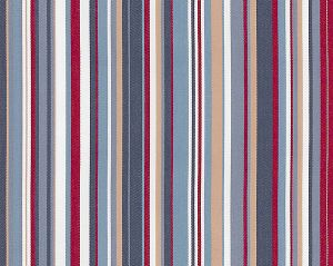 B8 00040575 STRIPES ZIP Red Blue/Multi Scalamandre Fabric