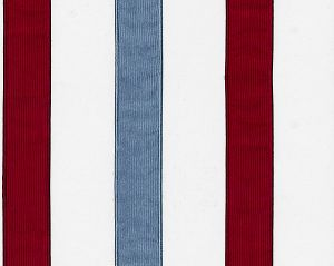 B8 00880585 SKATER Red Blue Scalamandre Fabric