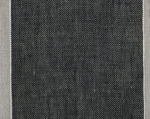 CH 03271439 BELLAVIST Black Tan Scalamandre Fabric