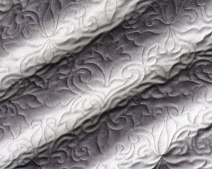 CH 05050655 VELBRODE Steel Scalamandre Fabric
