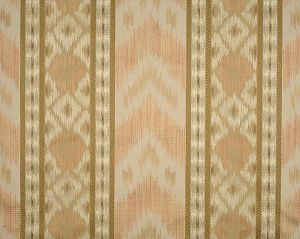 CL 000126416 UNGHERESE RIGATO Multi Peaches Taupes Scalamandre Fabric