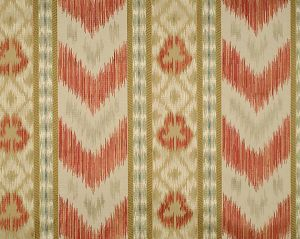 CL 000426416 UNGHERESE RIGATO Multi Reds Taupes Scalamandre Fabric
