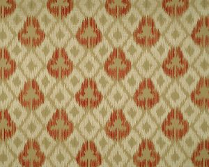 CL 000426417 UNGHERESE ALL OVER Multi Reds Taupes Scalamandre Fabric