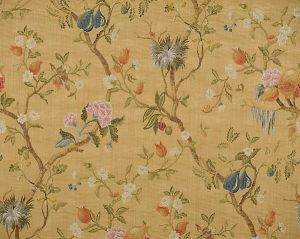 CL 000426464 MELOGRANO Multi On Antique Gold Scalamandre Fabric
