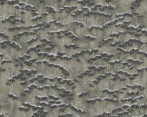CL 0004WP36397 SAGANO Grigio Scalamandre Wallpaper