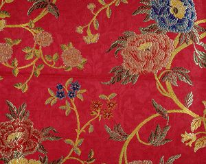 CL 000526318 STUPINIGI Ruby Scalamandre Fabric