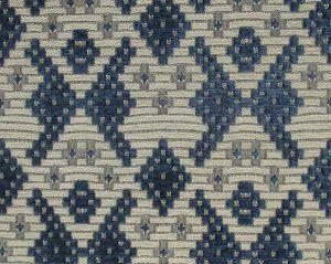 CL 000636406 SAMARCANDA Blu-Beige Scalamandre Fabric
