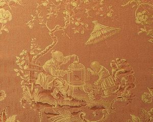 CL 000726259 RACCONIGI Arancio Scalamandre Fabric
