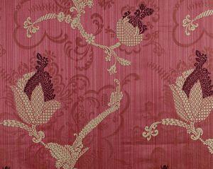 CL 000726715 VIVALDI Plum Linen On Wine Scalamandre Fabric
