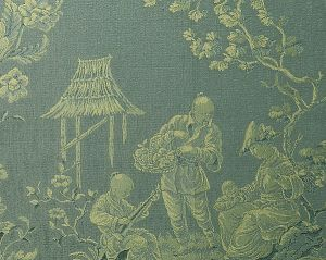 CL 000826259 RACCONIGI Celadon Scalamandre Fabric