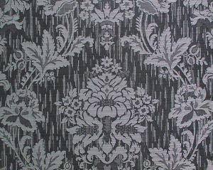 CL 000836414 VILLA ADA Nero Scalamandre Fabric
