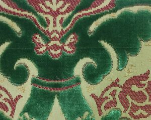 H0 00010647 RAVENNE VELVET Emeraude Scalamandre Fabric