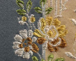 H0 00011542 RHEA Pervenche Scalamandre Fabric