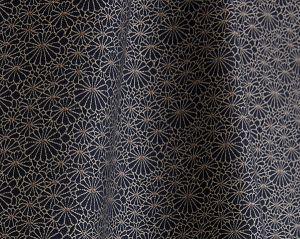 H0 00013467 OBI JACQUARD Noir Scalamandre Fabric