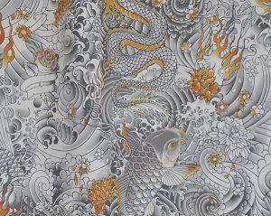 H0 00023438 ROCK Gold Scalamandre Fabric