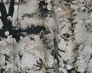 H0 00023441 VAGABOND Graphite Scalamandre Fabric