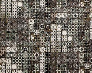 H0 00023463 AZULEJOS Brun Scalamandre Fabric
