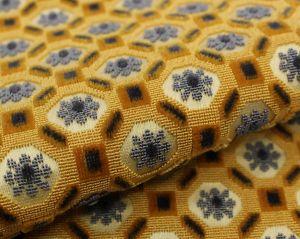 H0 00031506 BRIENNE Jaune Scalamandre Fabric