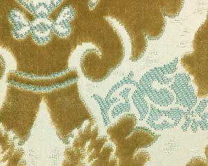 H0 00040647 RAVENNE VELVET Topaze Scalamandre Fabric