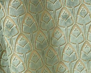 H0 00041695 TULIPES Jade Scalamandre Fabric