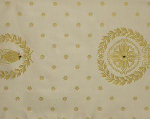 H0 00044009 MASSENA FAUTEUIL Blanc Scalamandre Fabric