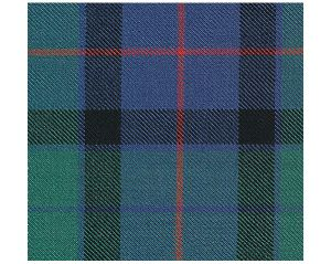 MR 03680866 FLOWER OF SCOTLAND SINGLE WIDTH Blue Green Old World Weavers Fabric