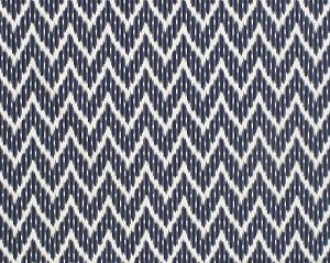 PS 00045127 WHITE WATER Navy Old World Weavers Fabric