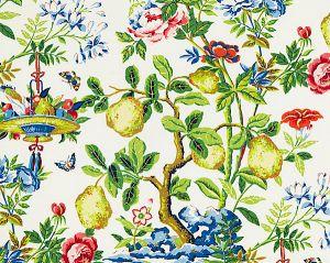16583-001 SHANTUNG GARDEN Bloom Scalamandre Fabric