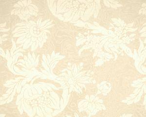 26695-001 DAMAS PARC MONCEAU Cream Scalamandre Fabric