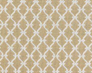 27009-001 TRELLIS WEAVE Sand Scalamandre Fabric