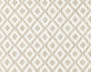 27098-001 MALAY IKAT WEAVE Flax Scalamandre Fabric