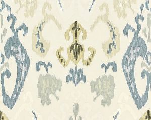 27172-001 MANDALAY IKAT EMBROIDERY Cloud Scalamandre Fabric