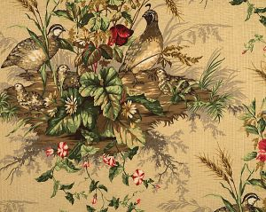 16310-002 EDWIN'S COVEY Multi On Sisal Scalamandre Fabric
