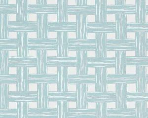 27059-002 BAMBOO LATTICE Surf Scalamandre Fabric