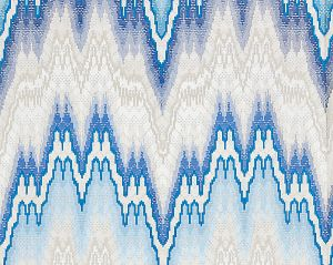 27070-002 BARGELLO Cerulean Scalamandre Fabric