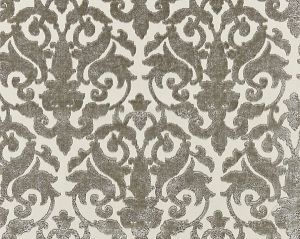 27078-002 VENEZIA SILK VELVET Pewter Scalamandre Fabric