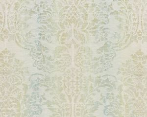 27093-002 SORRENTO LINEN DAMASK Mineral Scalamandre Fabric